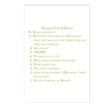 Desmond Postcards (Package of 8)