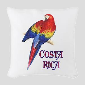 COSTA RICA II Woven Throw Pillow
