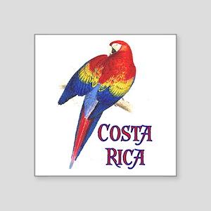 "COSTA RICA II Square Sticker 3"" x 3"""
