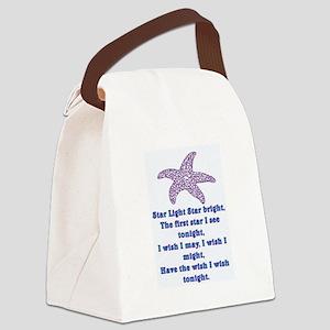 STAR LIGHT - STAR BRIGHT Canvas Lunch Bag