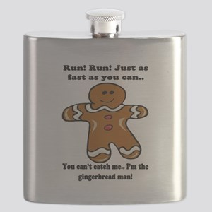 GINGERBREAD MAN! Flask