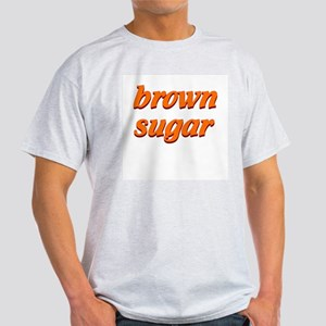 brown sugar Ash Grey T-Shirt