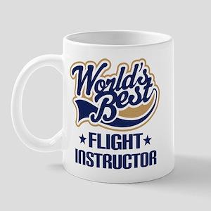 Worlds Best Flight Instructor Mug