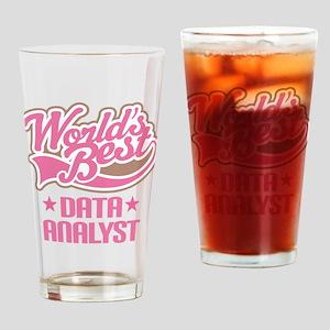 Worlds Best Data Analyst Drinking Glass