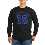 18 Lions of Judah Long Sleeve Dark T-Shirt