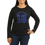 18 Lions of Judah Women's Long Sleeve Dark T-Shirt