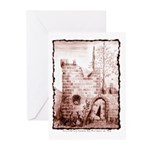 Crumbling Castle Greeting Cards (Pk of 10)