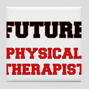 Future Physical Therapist Tile Coaster