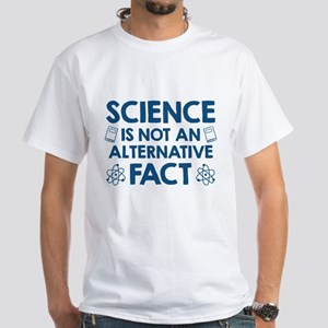 Science White T-Shirt