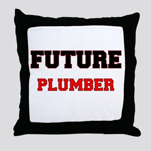 Future Plumber Throw Pillow