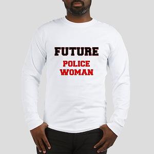 Future Police Woman Long Sleeve T-Shirt