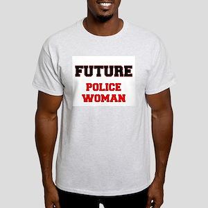 Future Police Woman T-Shirt