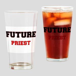 Future Priest Drinking Glass