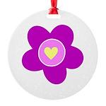flower pink Ornament