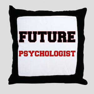 Future Psychologist Throw Pillow