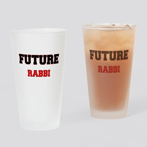 Future Rabbi Drinking Glass