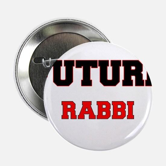 """Future Rabbi 2.25"""" Button"""