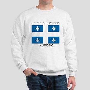 Je Me Souviens Quebec Sweatshirt