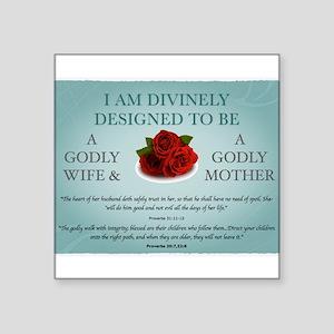 Divinely Designed Sticker