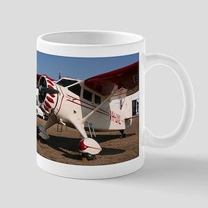 Stinson Aircraft (red & white) Mug