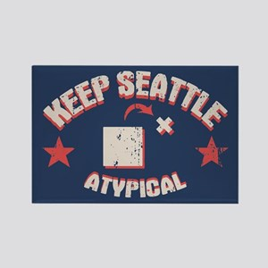 Seattle Atypical II Rectangle Magnet