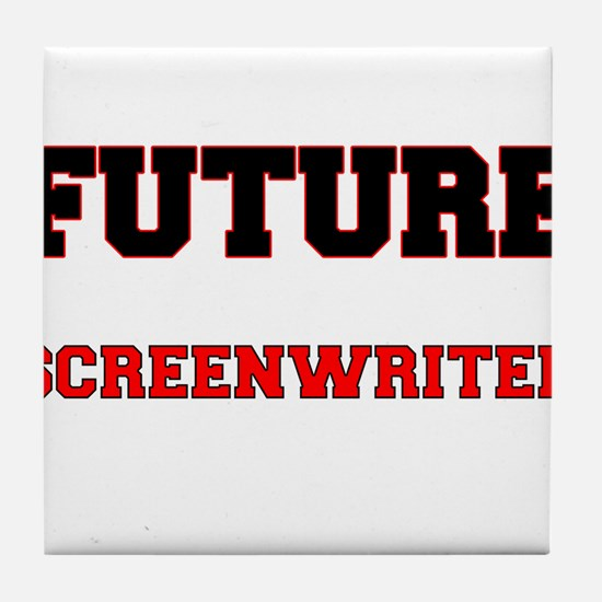 Future Screenwriter Tile Coaster