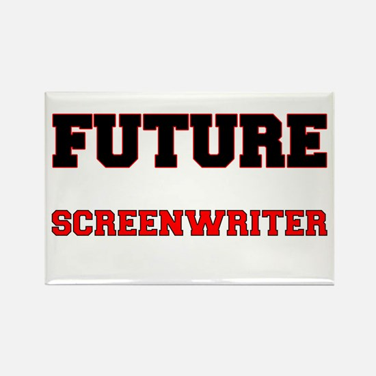 Future Screenwriter Rectangle Magnet
