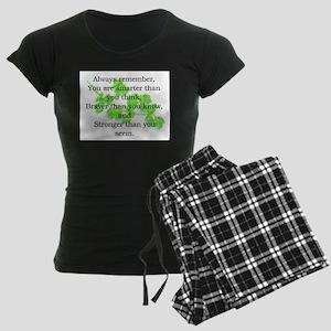 ALWAYS REMEMBER.. Women's Dark Pajamas