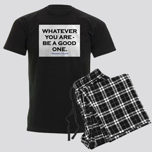 BE A GOOD ONE! Men's Dark Pajamas