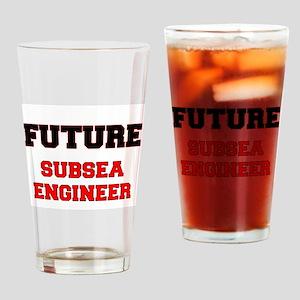 Future Subsea Engineer Drinking Glass