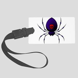 Black Widow Luggage Tag