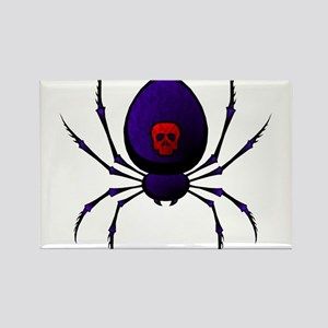Black Widow Rectangle Magnet
