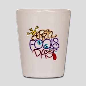 Illustration Celebrating April Fools' - Shot Glass