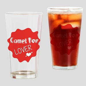 Camel Toe Lover Drinking Glass