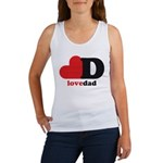 Love Dad Tank Top