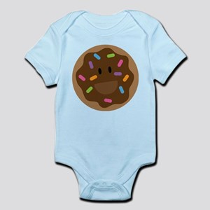 Cute Donut Belly Print Body Suit
