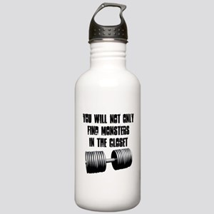 Monsters are not only in the closet Water Bottle