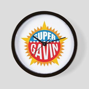 Super Gavin Wall Clock