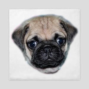 Pug Puppy Queen Duvet