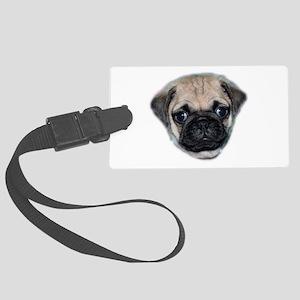 Pug Puppy Luggage Tag