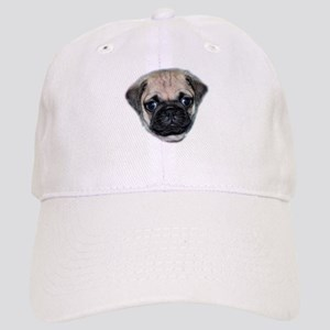 Pug Puppy Baseball Cap