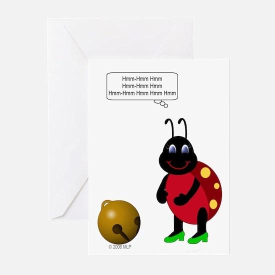 Secret Santa Hum Bug Greeting Cards (Pk of 10)