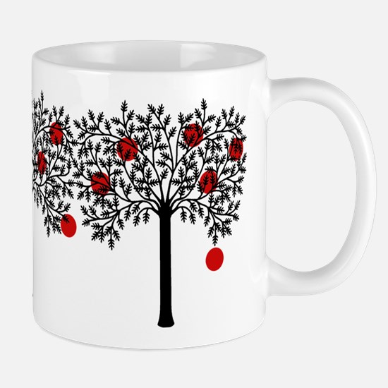 Gothic Apple Tree Mug