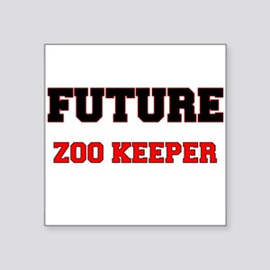 Future Zoo Keeper Sticker
