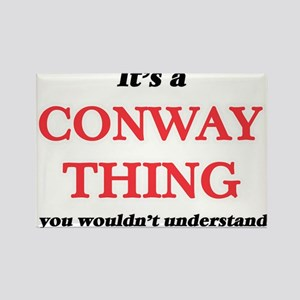 It's a Conway thing, you wouldn't Magnets