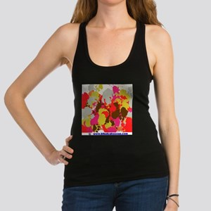 Made by the cats Racerback Tank Top