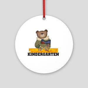 Bear Kindergarten Ornament (Round)