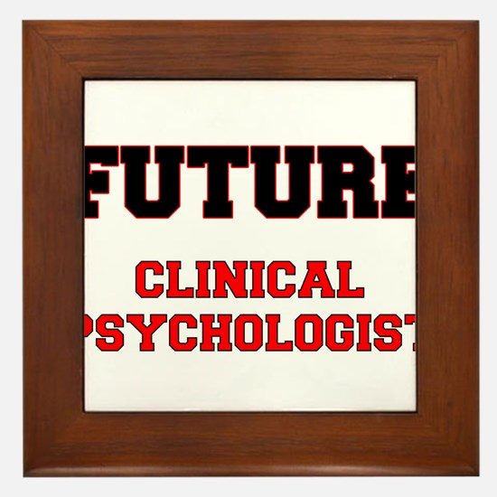 Future Clinical Psychologist Framed Tile