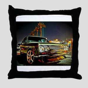 Datsun Bluebird SSS Throw Pillow