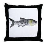Bighead Carp (Asian Carp) fish Throw Pillow